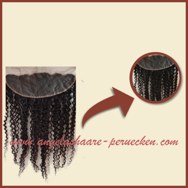 Lace Front  GELOCKT ohne Teilung 50 cm