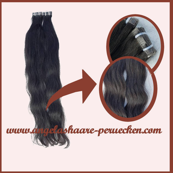 TAPE-ON EXTENSIONS  GEWELLT (60 cm)